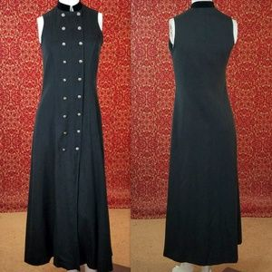 BREECHES Vintage sleeveless Coat dress 4